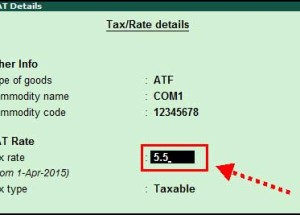 How to define new Tax Rates at Ledger or Stock Item Level in Tally ERP9?