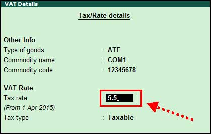 how to add vat in tally
