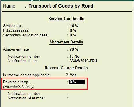how to record reverse charge of service tax transactions in tally, Invoice examples